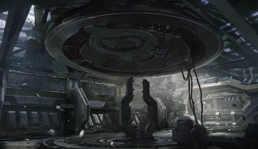 Halo concept art science fiction 4 HD wallpaper