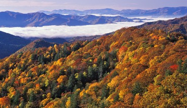 National park great smoky mountains north carolina HD wallpaper