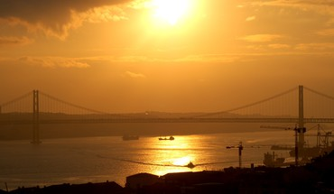 River tejo HD wallpaper