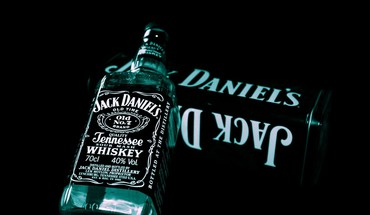 Jack Daniels fond noir  HD wallpaper