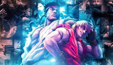 Street fighter team HD wallpaper