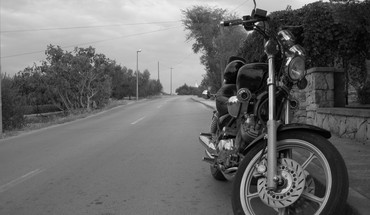 Motorbikes roads HD wallpaper