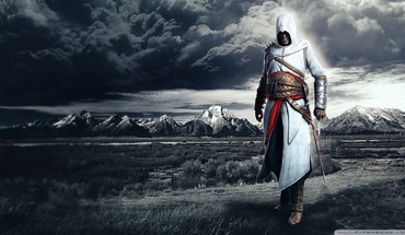 Mountains assassins creed altair ibn la ahad HD wallpaper