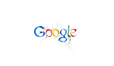 Paint google digital art logos white background HD wallpaper