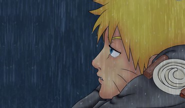 Boys uzumaki naruto sadness fan art whiskers HD wallpaper