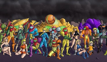 Metroid comics Samus Aran costume zéro Chozo  HD wallpaper