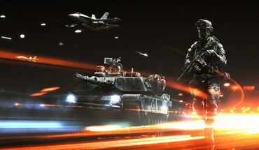 Aircraft tanks battlefield 3 HD wallpaper