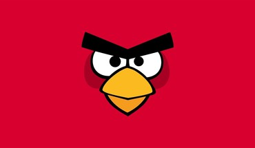 Minimalistic angry birds HD wallpaper