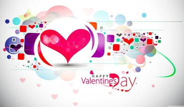 Valentines day abstract happy HD wallpaper