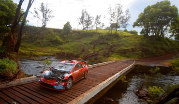 Wrc rally car crashed HD wallpaper