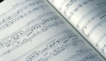 Music art systems musical performance notes HD wallpaper