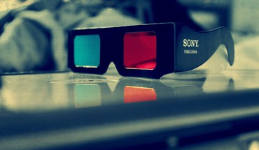 Red blue 3d glasses HD wallpaper