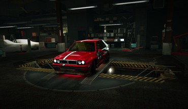 Speed rally lancia delta world garage nfs HD wallpaper
