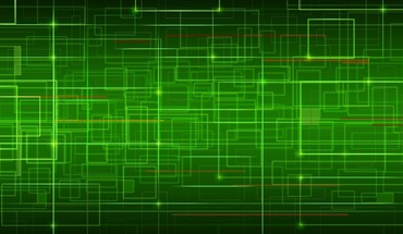 Green network HD wallpaper