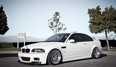 Autos Bmw Auto e46  HD wallpaper