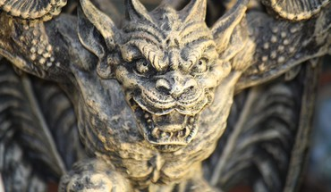 Gargoyle, statue  HD wallpaper
