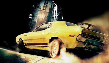Cars driver: san francisco dodge challenger r/t HD wallpaper