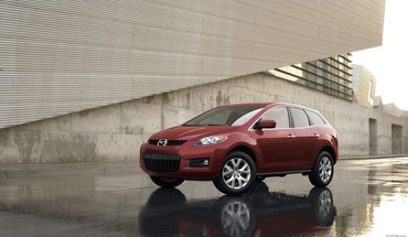 Mazda cx7 cars red HD wallpaper