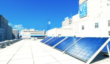 Mirrors edge solar panels HD wallpaper