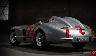 1955 mercedes benz 300SLR Forza Motorsport 4  HD wallpaper