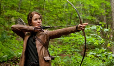 Katniss the hunger games Bogen (Waffe)  HD wallpaper