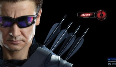 Hawkeye Jeremy Renner le film des vengeurs face  HD wallpaper