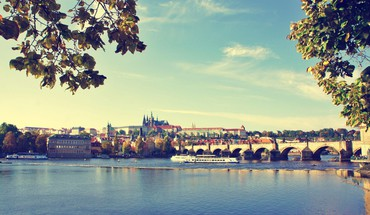 Cityscapes prague rivers praha HD wallpaper