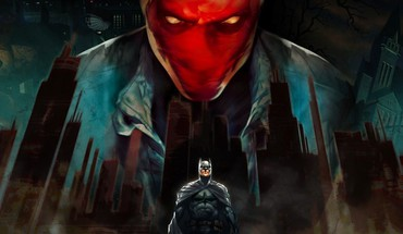 Batman dc comics red hood the dark knight HD wallpaper