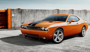 Cars dodge challenger srt widescreen HD wallpaper