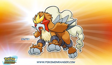 Pokemon entei HD wallpaper