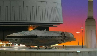 Fiction Grafik Bespin Ralph McQuarrie Wolkenstadt  HD wallpaper