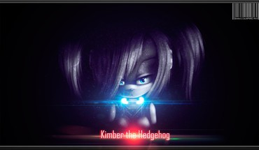 Digital art hedgehog kimber sparkles video games HD wallpaper