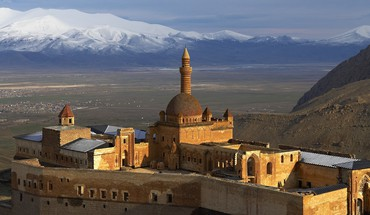 Ishak pasha palace turkey eastern villages HD wallpaper