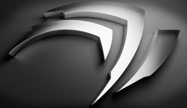 Nvidia logo background HD wallpaper