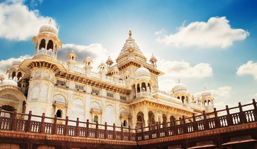 Skies man made rajasthan marble jaswant thada HD wallpaper