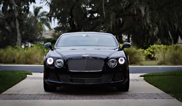 Automobiliai Bentley GT HD wallpaper