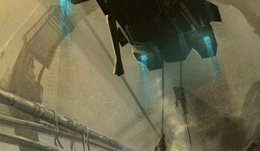 Artwork liftoff space elevator pelican sandstorms unsc HD wallpaper