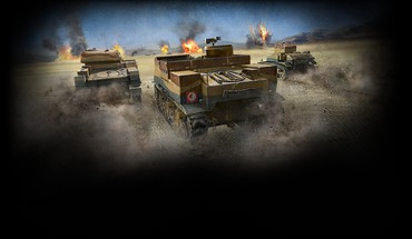 Back tanks sparks world of el alamein HD wallpaper