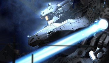 Armored core science fiction technology HD wallpaper