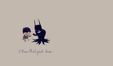 Batman minimalistic text humor harry potter crossovers HD wallpaper