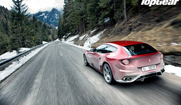 Automobiliai Top Gear Ferrari FF  HD wallpaper
