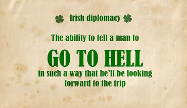 Text irish HD wallpaper