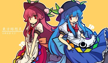 Video games touhou hinanawi tenshi anime girls HD wallpaper