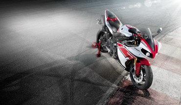 Yamaha anniversary race tracks superbike vehicles HD wallpaper