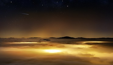 Clouds nature orbit photo manipulation skyscapes HD wallpaper