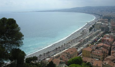 France vue promenade des anglais  HD wallpaper