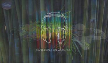 Headphones abstract bamboo suicide HD wallpaper