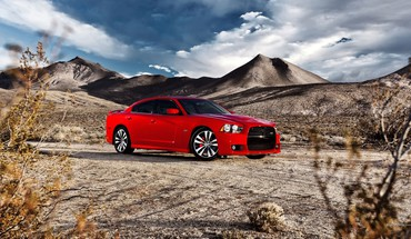 Charger dodge cars red HD wallpaper