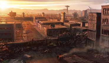 Cityscapes postapocalyptic ruins HD wallpaper