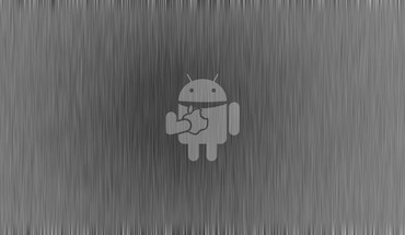 Android bucket grey background HD wallpaper
